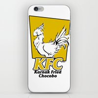 Karnak Fried Chocobo iPhone & iPod Skin