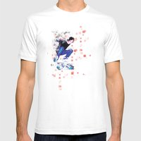 Ride North Mens Fitted Tee White SMALL