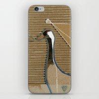 cranes iPhone & iPod Skin