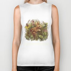 The Cottontail and the Katydid Biker Tank