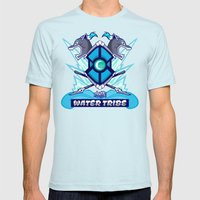 Avatar Nations Series - Water Tribe Mens Fitted Tee Light Blue SMALL