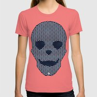 Dead Sea Womens Fitted Tee Pomegranate SMALL