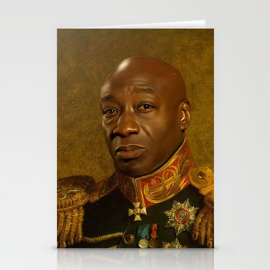 Michael Clarke Duncan - replaceface Stationery Card