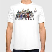 Mass Effect Gang Mens Fitted Tee White SMALL