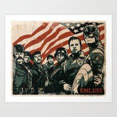Enlist Art Print