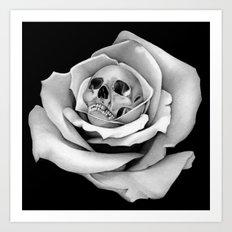 Beauty & Death - Edited Art Print