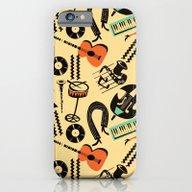 Jazz Rhythm (positive) iPhone 6 Slim Case