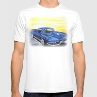 Dads Toy Mens Fitted Tee White SMALL