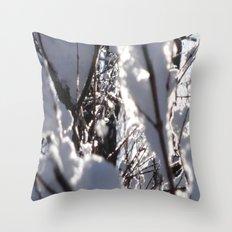 Glitter Reeds Throw Pillow