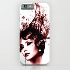 the woman in red iPhone 6s Slim Case