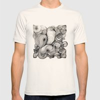 Pattern Mens Fitted Tee Natural SMALL