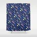 Magical Weapons Shower Curtain