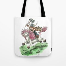 Barbarian Unicorn Tote Bag