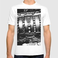Old cash box Mens Fitted Tee White SMALL