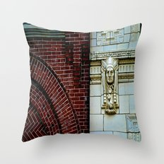 The Bricks & The Chief Throw Pillow
