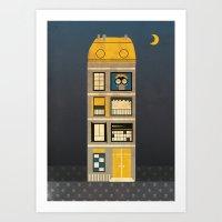 Night Spy Art Print