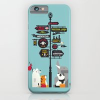 iPhone Cases featuring Nowhere Home by Budi Kwan