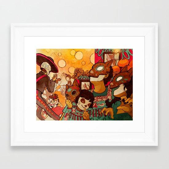 Naguals Framed Art Print