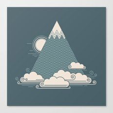 Cloud Mountain Canvas Print
