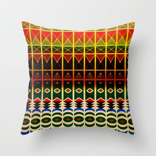 Memento #1 - From Persia, With Love Throw Pillow