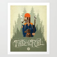 Tails Of The Trail Art Print