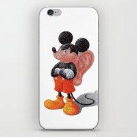 Mickey's Third Ear  iPhone & iPod Skin