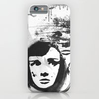 Audrey on a stencil iPhone 6 Slim Case