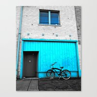 South Tacoma apartment Canvas Print