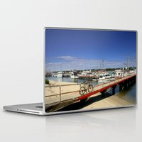 bicycle Laptop & iPad Skins featuring Bicycle  by Chris' Landscape Images & Designs