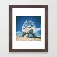 Framed Art Print featuring MINOR PEON (everyday 07.… by Beeple