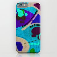 graffiti iPhone & iPod Cases featuring graffiti by Annika Erixon