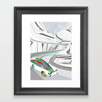 Stratos (Without Text) Framed Art Print