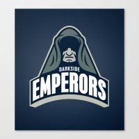 DarkSide Emperors -Blue Canvas Print