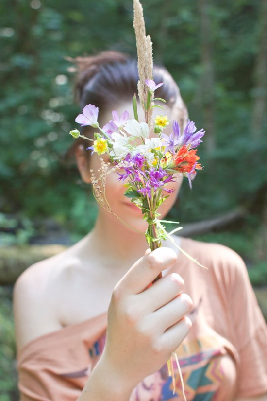Wildflower/Wallflower Art Print