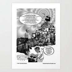Musical Mystery Tour Art Print
