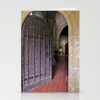 Old Church Door Stationery Cards