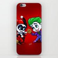 Mad Love iPhone & iPod Skin