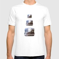 Polaroid Mens Fitted Tee White SMALL