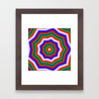 Infinite Of Love Framed Art Print