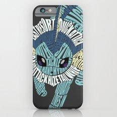 Vaporeon Typography iPhone 6 Slim Case