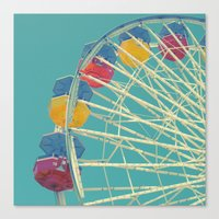 Save Ferris Canvas Print