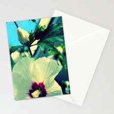 tiki flower with bud ~ flower photography Stationery Cards