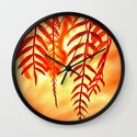 Nature willow Wall Clock