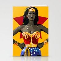 Wonderwoman Stationery Cards
