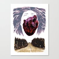 Cry for the lost Canvas Print