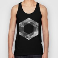 Optical Landscape Unisex Tank Top