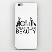 Weapons Of Mass Beauty  iPhone & iPod Skin