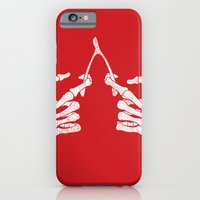 iPhone & iPod Case featuring Wishbones by victor calahan