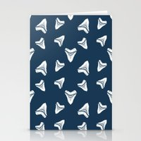 Sharks Tooth Pattern Stationery Cards