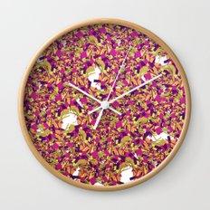Color pieces Wall Clock